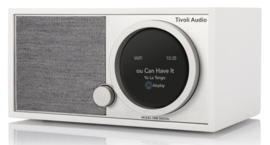 Tivoli Audio ART Model One Digital Generatie 2 met internetradio, DAB+, FM, Spotify en Bluetooth, white grey