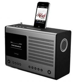 Revo Heritage G2 WIFI / DAB / DAB+ / FM radio / iPod / iPhone Black Oak