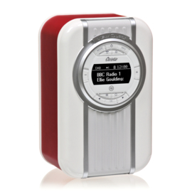 View Quest Christie draagbare DAB+ radio met FM en Bluetooth, Rood