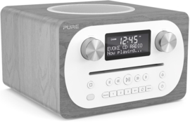 Pure Evoke C-D4 digitale DAB+ radio met CD en Bluetooth, Grey Oak