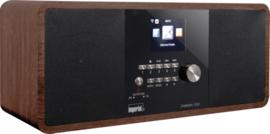 Imperial DABMAN i250 stereo hybride internetradio met DAB+ en FM en Bluetooth, walnoot