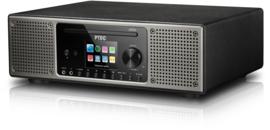 P TEC Pilatus 2 stereo radio met DAB+ ontvangst, FM, Bluetooth, CD, USB en analoge ingang, zwart, OPEN DOOS