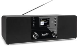 TechniSat DigitRadio 370 CD IR stereo tafelradio met internet, DAB+ digital radio, CD en USB, zwart