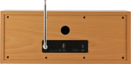 Imperial DABMAN i30 stereo hybride internetradio met DAB+ en FM en Bluetooth, beech