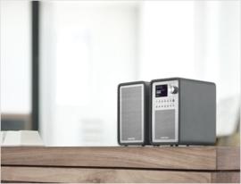 Sangean Revery R5 (WFR-70 + SP-40) Stereo internetradio met DAB+, Spotify en USB