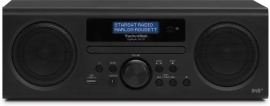 TechniSat DigitRadio 350 CD radio met DAB+, FM, CD en USB, zwart