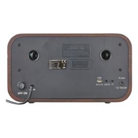 Albrecht DR 790 stereo radio met DAB+, FM, CD-speler, Bluetooth en USB