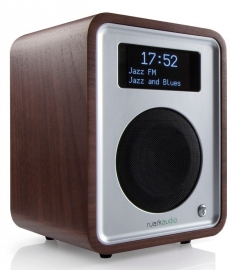 Ruark Audio R1 deluxe tafelradio met DAB+, FM en Bluetooth, Rich Walnut