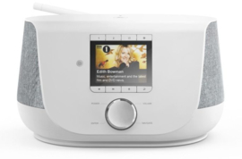 Hama DIR3300SBT V2 stereo hybride digital radio met internet, DAB+, FM en Bluetooth, wit