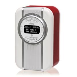 View Quest Christie draagbare DAB+ radio met FM en Bluetooth, Rood, OPEN DOOS