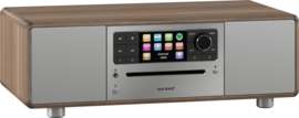 Sonoro Prestige SO-330 V2 stereo internetradio met DAB+, FM, CD, Spotify, Bluetooth en USB, walnoot