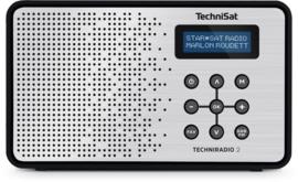 TechniSat TechniRadio 2 DAB+ en FM radio, zwart-zilver