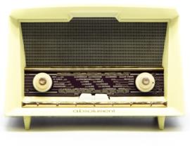A.bsolument Nr. 745 - Echte Vintage Jaren 60 Radio met Bluetooth en audio ingang