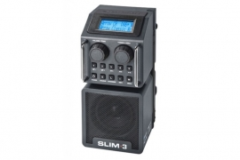 Perfectpro Slim 3 oplaadbare DAB+ en FM werkradio met Bluetooth, USB en SD