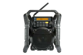 Perfectpro UBOX 500R werkradio met DAB+, FM, Bluetooth en USB-speler