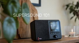 Pinell Supersound 101 DAB+ radio met FM, wifi internet en Bluetooth