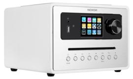 NOXON iRadio 500 CD alles-in-één radio met DAB+, FM en internetradio, USB, Bluetooth en CD, wit
