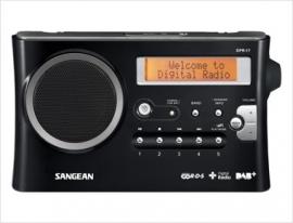 Sangean DPR-17 DAB+ en FM radio met opname en MP3 playback