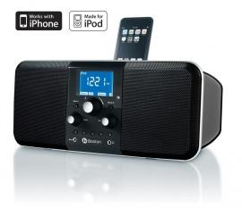 Boston Horizon Duo-i PLUS (AM/FM radio met iPod / iPhone Dock, Zwart)