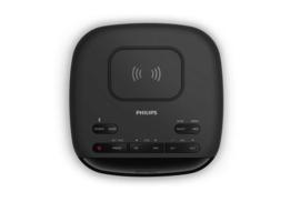 Philips TAR7705 / 10 digitale DAB+ en FM wekker radio met Qi lader en streaming via Bluetooth