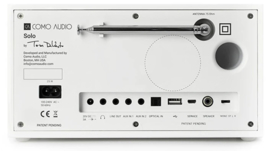 Como Audio Solo radio met wifi internet, DAB+, Spotify en Multi room, Piano White
