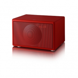 Geneva Model S Wireless DAB+ Sound System met Bluetooth, mat rood