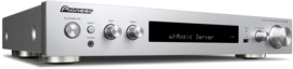 Pioneer SX-S30DAB stereo DAB+ en internet tuner versterker met HDMI, Airplay, USB Spotify en Bluetooth, zilver