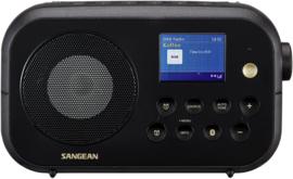 Sangean TRAVELLER 420  ( DPR-42BT ) DAB+ draagbare radio met FM en Bluetooth, zwart