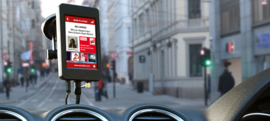 AutoDAB GO+ universele DAB+ ontvanger inclusief antenne, touch screen