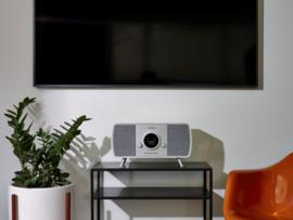 Tivoli Audio ART Music System Home Generatie 2 alles-in-één hifi-systeem met internet, DAB+, FM, Spotify en Bluetooth, wit