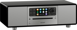 Sonoro Prestige SO-330 V2 stereo internetradio met DAB+, FM, CD, Spotify, Bluetooth en USB, zwart