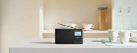 Sony  XDR-S41D Portable Digitale radio DAB+ FM, zwart