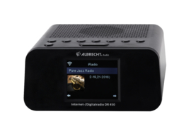 Albrecht DR 450 Internet / DAB+ / FM radiowekker