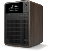 Revo SuperSignal radio met FM, DAB+ en aptX Bluetooth, walnut black