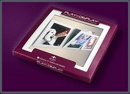 Art Vinyl Play & Display Flip Frame Wit