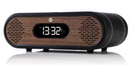 View Quest Rosie-Lee DAB+ wekkerradio met FM en Bluetooth,  Black Leather Walnut
