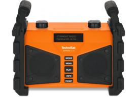 TechniSat DigitRadio 230 OD portable stereo DAB+ en FM bouwradio met ingebouwde accu