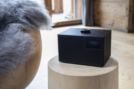 Geneva Acustica Lounge Radio hi-fi DAB+ en FM radio met Bluetooth, zwart