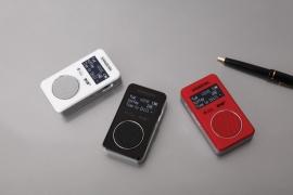 Sangean DPR-34+ oplaadbare pocketradio met DAB+ / FM en speaker, wit