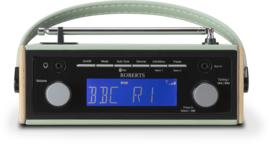 Roberts Rambler BT retro DAB+ radio met FM en Bluetooth, groen