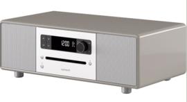 sonoro STEREO 2 SO-320 2.1 stereo muzieksysteem met DAB+ en FM, CD speler, USB en Bluetooth, taupe