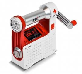 Eton Axis opwindbare AM/FM radio met zaklamp en telefoonlader