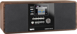 Imperial DABMAN i200 CD stereo hybride internetradio met CD, USB, Bluetooth en DAB+ digital radio, walnoot
