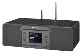 Sangean Revery R6 (DDR-66 BT) All-in-one stereo internet CD / DAB+ / Spotify muzieksysteem