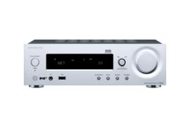 Onkyo R-N855 stereo netwerk receiver, zilver