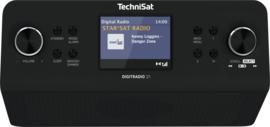 TechniSat DigitRadio 21 keuken (onderbouw) radio met DAB+ en FM, zwart