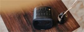Sangean DCR-83 DAB+ en FM wekker radio met Bluetooth, zwart