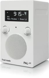 Tivoli Audio Model PAL+BT 2021 oplaadbare radio met DAB+, FM en Bluetooth, wit