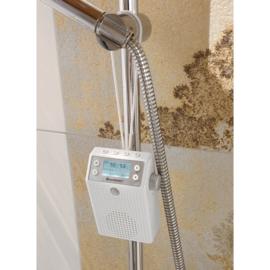 Soundmaster DAB60WE digitale DAB+ en FM badkamer radio met Bluetooth en bewegingsdetector