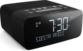 Pure Siesta Rise S wekkerradio met DAB+ FM en Bluetooth, Graphite